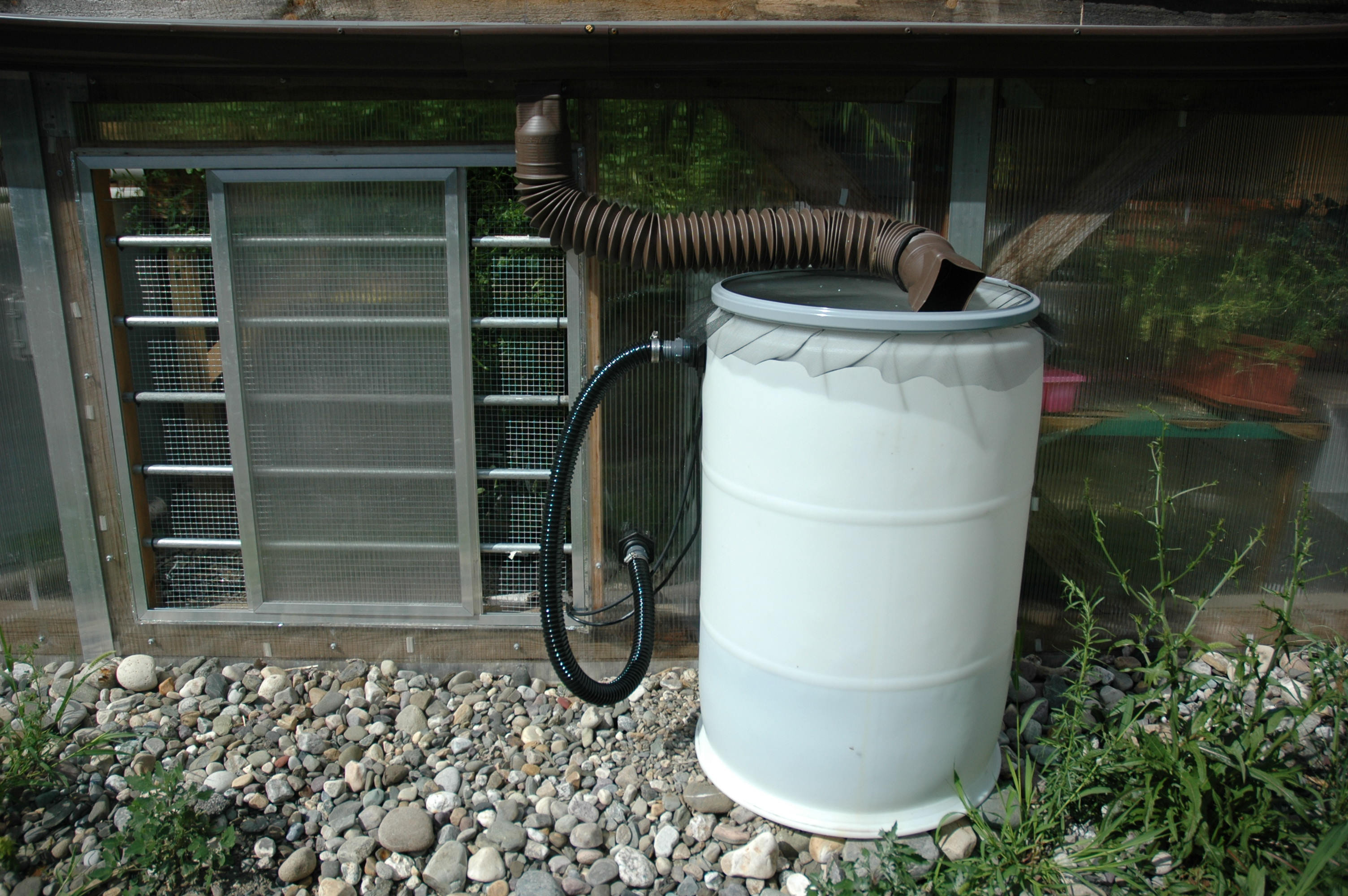 Rainwater Collection | The Radix Ecological Sustainability